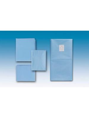 Telo cm 50x50 cm idrorepellente azzurro
