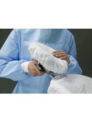 Copritestata assorbente rotondo Ø cm 28 con elastico bianco