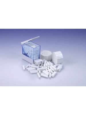 Distributore con cassetto per rulli salivari