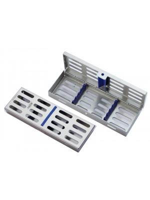 Tray per 4 strumenti, dimensioni 180x65x22 mm