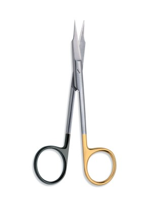 Forbice Goldman Fox TC Extra Sharp Curva 13 cm