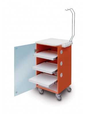 LC Implant suite 3 ripiani (colore arancione)