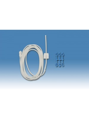 Prolunga con Luer e regolatore di flusso senza perforatore 1