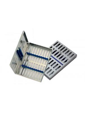 Tray per 8 strumenti, dimensioni 180x125x22 mm