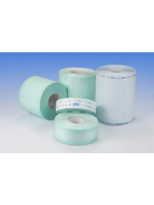 Rolls of paper/plastic for autoclave sterilization 100 mm x 200 m