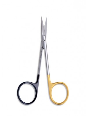 Black Scissor, Straight, Extra Sharp 19,5 cm