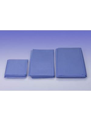 Telo cm 100x150 assorbente/impermeabile azzurro