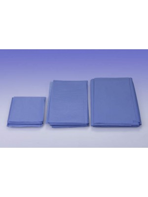 Telo cm 50x75 assorbente/impermeabile azzurro