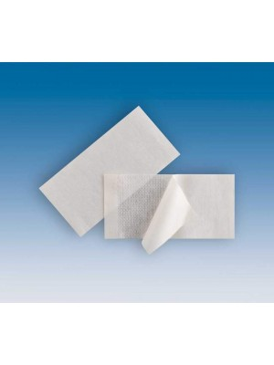 Medical grade adhesive tapes 10x5 cm for fixing sheaths and drapes