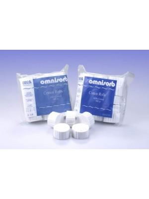 Rulli salivari in puro cotone Ø 8 mm OmniSorb