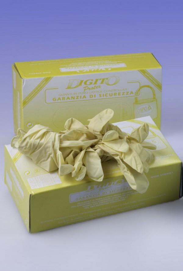 Guanti con grip senza polvere Digitoprotex® taglia L
