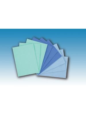 Salviette plastificate a 3 strati Salvet cm 32.5x45 cm nero