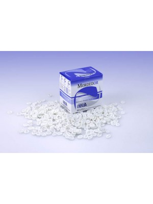 Protection bloc à mordre pour orthopantomographe Ø 7-10 mm Mordedor blanc