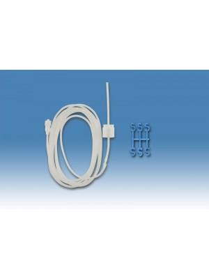 Rallonge avec Luer et régulateur de flux sans perforateur 1