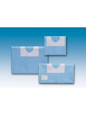 Telo  cm 100 x 150 con foro adesivo decentrato cm 6x9