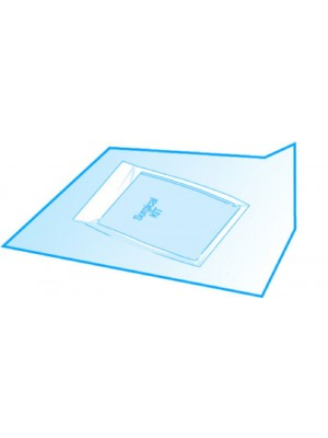 Carta crespata cm 60x60 per la sterilizzazione e il confezionamento di kit chirurgici sterili