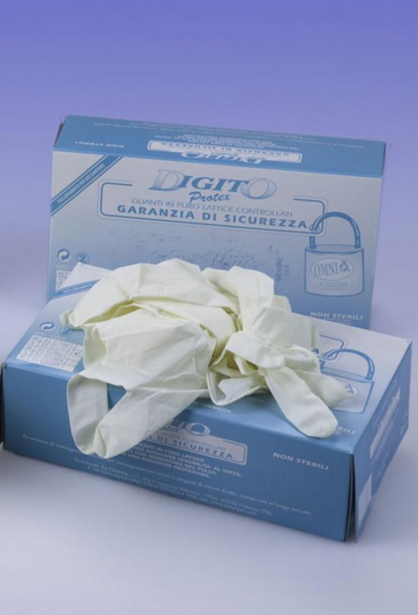 Guanti con polvere Digitoprotex® taglia XS