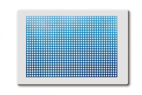 Griglia in titanio spessore 0.2 mm – dim. 40x60 mm